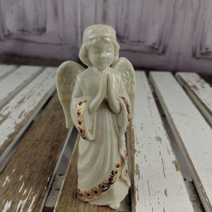 Lenox jewels angel adoring cherub 1995 nativity xm
